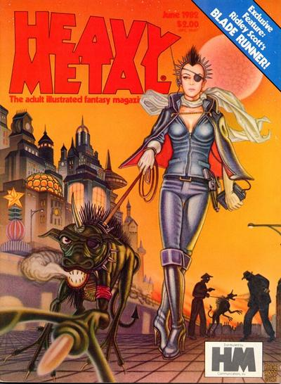 Cover for Heavy Metal Magazine (1977 series) #v6#3