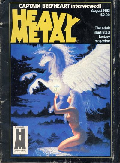 Cover for Heavy Metal Magazine (HM Communications, Inc., 1977 series) #v7#5