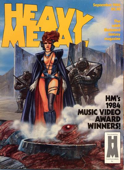 Cover for Heavy Metal Magazine (HM Communications, Inc., 1977 series) #v8#6