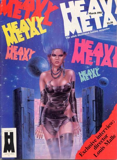 Cover for Heavy Metal Magazine (HM Communications, Inc., 1977 series) #v8#12