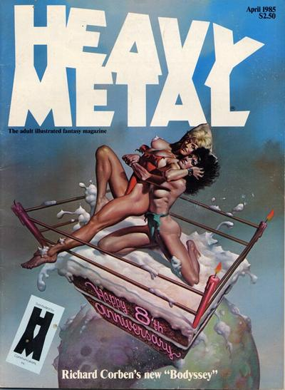 Cover for Heavy Metal Magazine (HM Communications, Inc., 1977 series) #v9#1