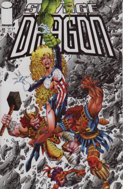 Cover for Savage Dragon (Image, 1993 series) #45