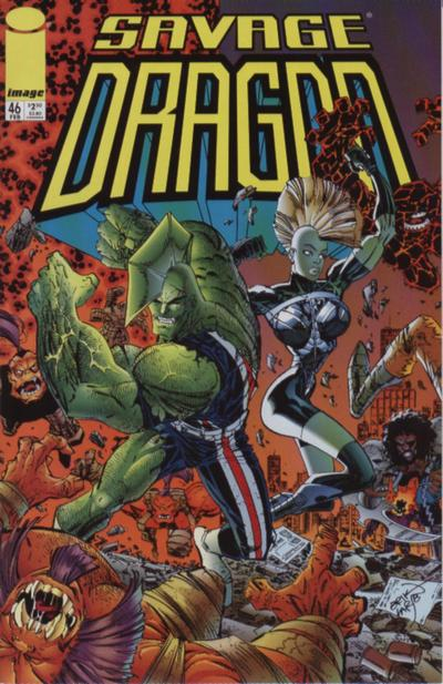 Cover for Savage Dragon (Image, 1993 series) #46