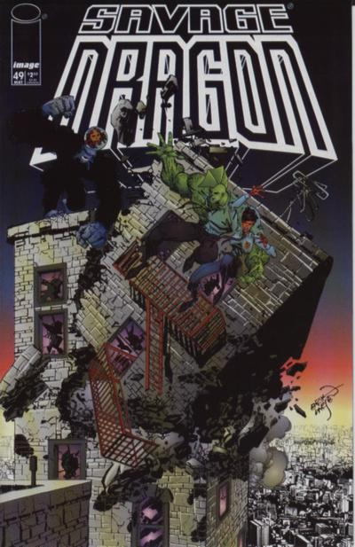 Cover for Savage Dragon (Image, 1993 series) #49