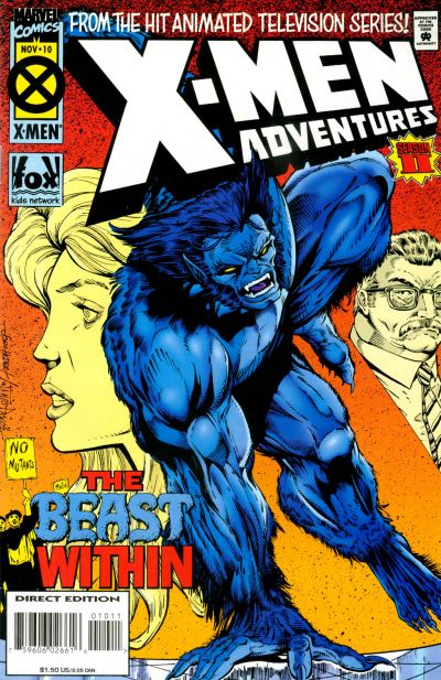 Cover for X-Men Adventures [II] (1994 series) #10