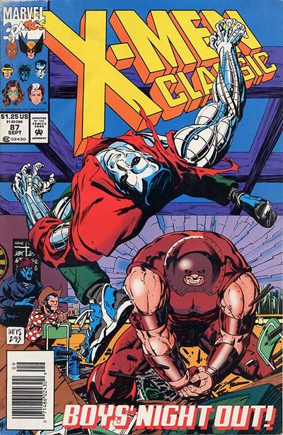 Cover for X-Men Classic (Marvel, 1990 series) #87 [Direct Edition]