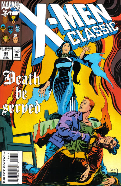 Cover for X-Men Classic (Marvel, 1990 series) #88