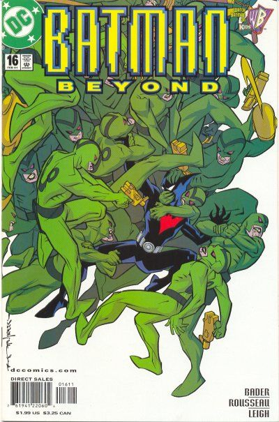 Cover for Batman Beyond (1999 series) #16