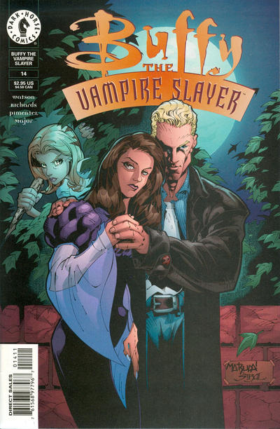 Cover for Buffy the Vampire Slayer (1998 series) #14