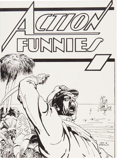 Cover for Action Funnies [ashcan] (DC, 1937 series) #[nn]