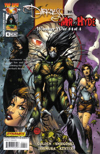 Cover Thumbnail for The Darkness vs. Mr. Hyde: Monster War (Image, 2005 series) #4 [Chin Cover]