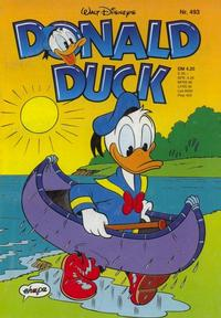 Cover for Donald Duck (1974 series) #493