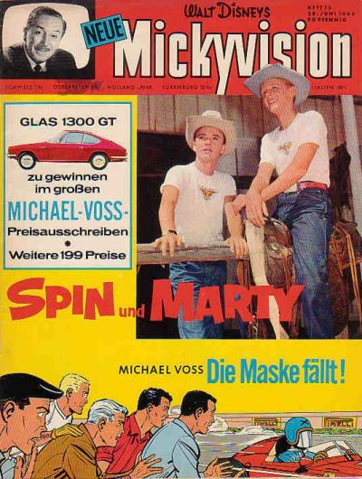 Cover for Mickyvision (1962 series) #13/1965