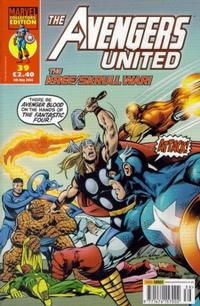 Cover Thumbnail for The Avengers United (Panini UK, 2001 series) #39