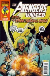 Cover Thumbnail for The Avengers United (Panini UK, 2001 series) #40