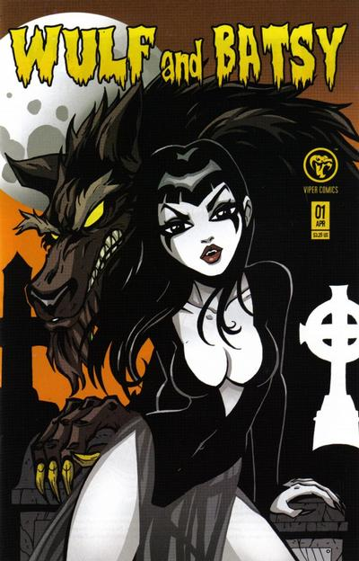 Cover for Wulf and Batsy (Viper, 2008 series) #1