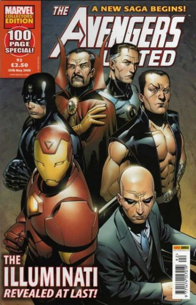 Cover for The Avengers United (Panini UK, 2001 series) #92
