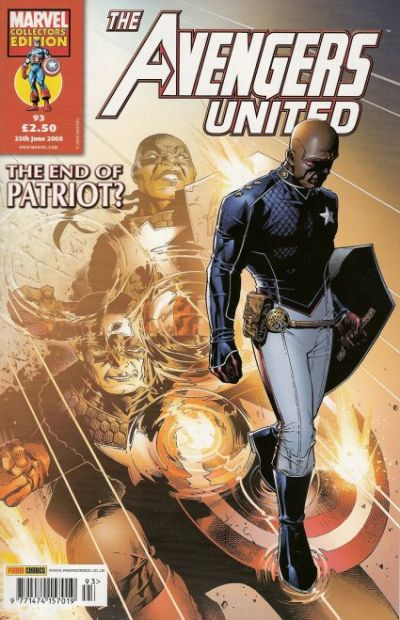 Cover for The Avengers United (Panini UK, 2001 series) #93