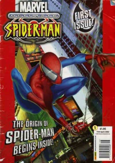 Cover for Ultimate Spider-Man (2002 series) #1