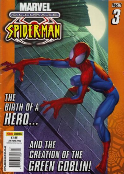 Cover for Ultimate Spider-Man (Panini UK, 2002 series) #3