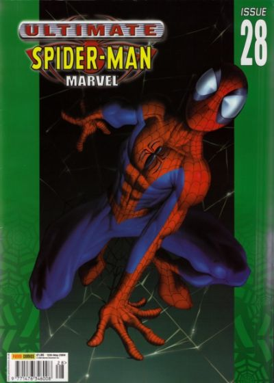 Cover for Ultimate Spider-Man (Panini UK, 2002 series) #28