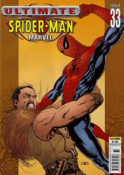 Cover for Ultimate Spider-Man (Panini UK, 2002 series) #33