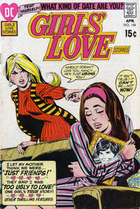 Cover Thumbnail for Girls' Love Stories (DC, 1949 series) #158