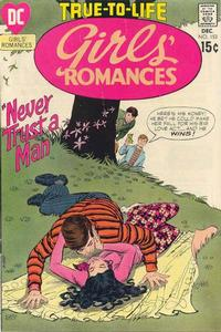 Cover Thumbnail for Girls' Romances (DC, 1950 series) #153