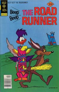 Cover Thumbnail for Beep Beep the Road Runner (Western, 1966 series) #66 [Gold Key Variant]