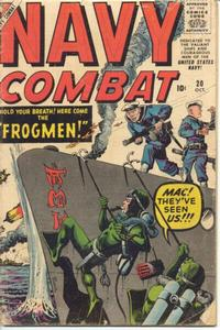 Cover Thumbnail for Navy Combat (Marvel, 1955 series) #20