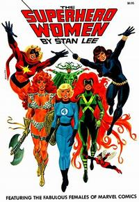 Cover Thumbnail for The Superhero Women (Simon and Schuster, 1977 series) #[nn]