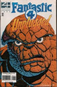 Cover for Fantastic Four Unplugged (Marvel, 1995 series) #1