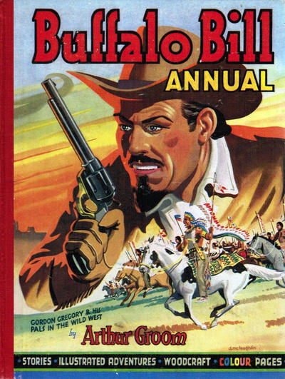Cover for Buffalo Bill Wild West Annual (T. V. Boardman, 1949 series) #1