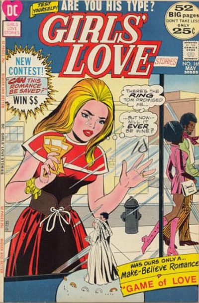 Cover for Girls&#39; Love Stories (1949 series) #169
