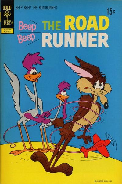 Cover for Beep Beep the Road Runner (Western, 1966 series) #31 [Whitman Variant]