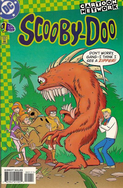 Cover for Scooby-Doo (DC, 1997 series) #1