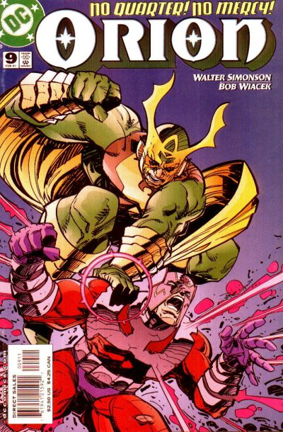 Cover for Orion (DC, 2000 series) #9