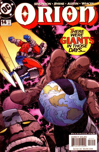 Cover for Orion (DC, 2000 series) #14
