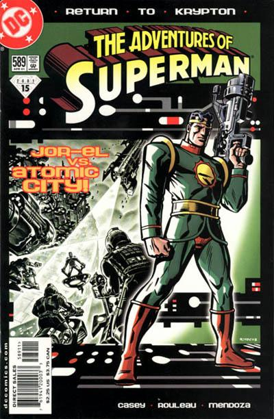 Cover for Adventures of Superman (DC, 1987 series) #589