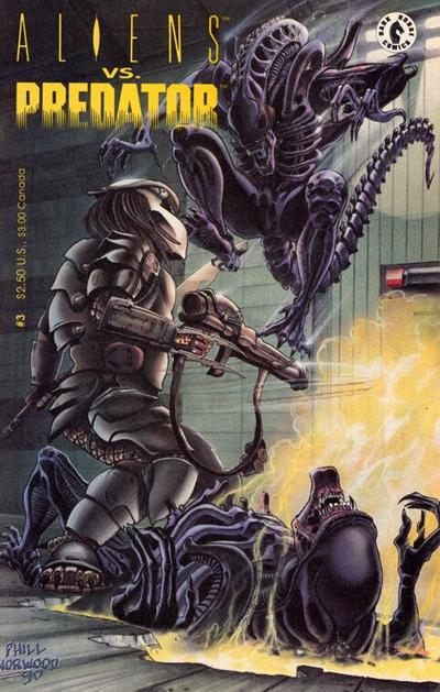 Cover for Aliens vs. Predator (Dark Horse, 1990 series) #3