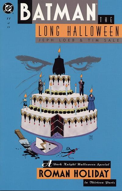 Cover for Batman: The Long Halloween (DC, 1996 series) #11