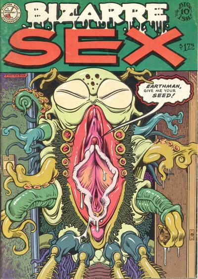 Cover for Bizarre Sex (1972 series) #10