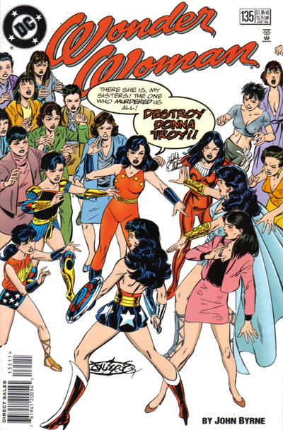 Cover for Wonder Woman (1987 series) #135
