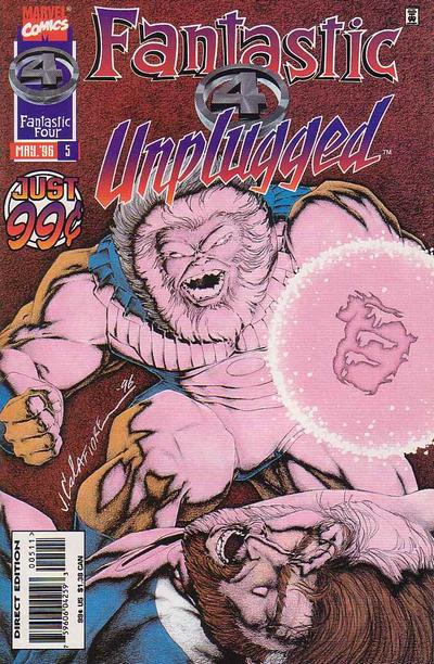Cover for Fantastic Four Unplugged (Marvel, 1995 series) #5