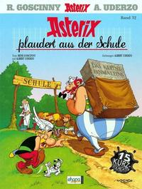 Cover for Asterix (1968 series) #32 - Asterix plaudert aus der Schule