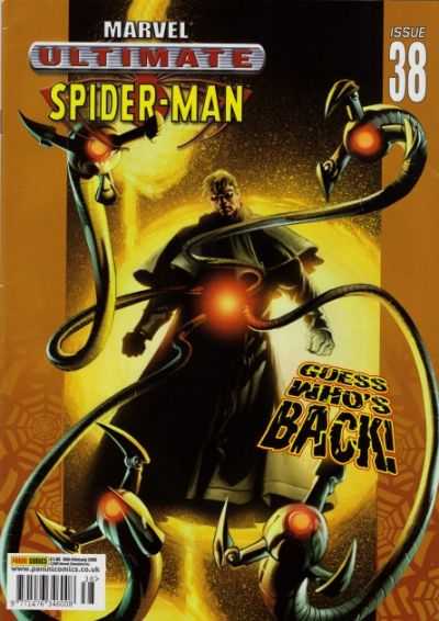 Cover for Ultimate Spider-Man (Panini UK, 2002 series) #38