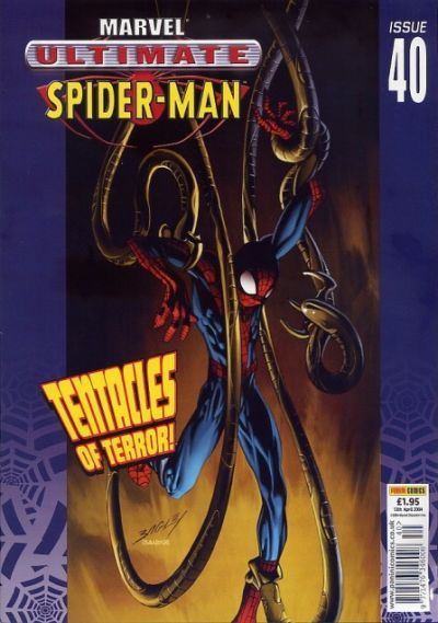 Cover for Ultimate Spider-Man (Panini UK, 2002 series) #40