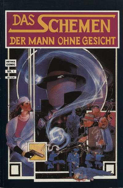 Cover for Das Schemen (Norbert Hethke Verlag, 1990 series) #1