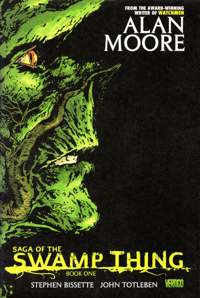 Cover for Saga of the Swamp Thing (DC, 2009 series) #1