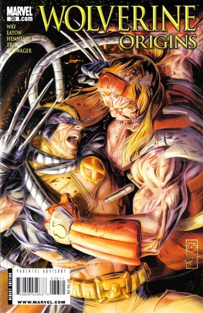 Cover for Wolverine: Origins (2006 series) #38 [40's Decade Variant]